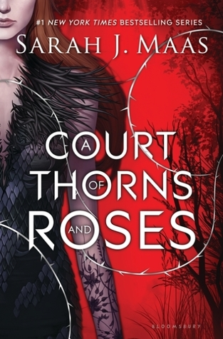 Title: A Court of Thorns and Roses Book Cover